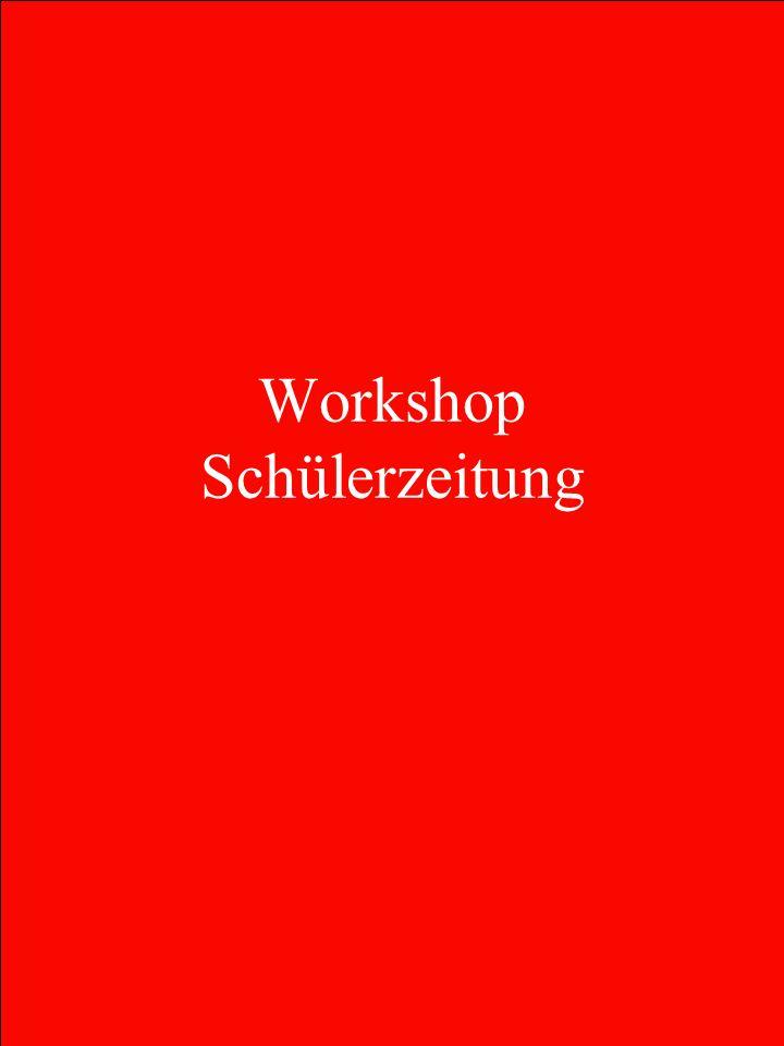 Workshop Schülerzeitung