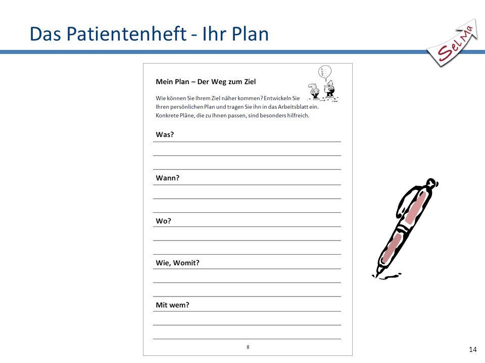 Das Patientenheft - Ihr Plan 14