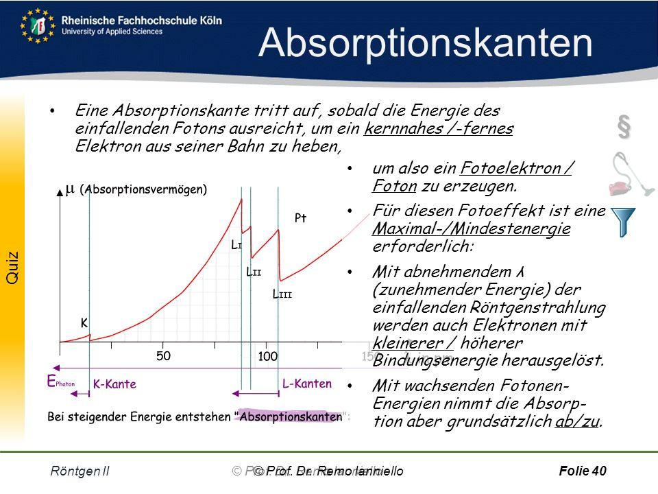Quiz Röntgen II© Prof.Dr.