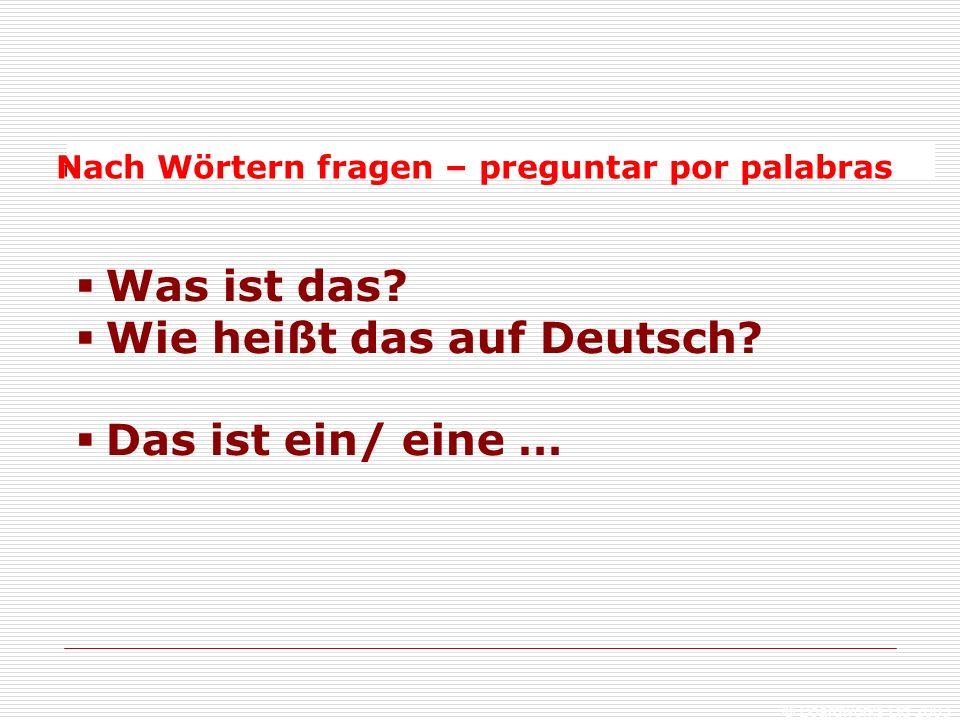 © Boardworks Ltd 2003  Was ist das. Wie heißt das auf Deutsch.