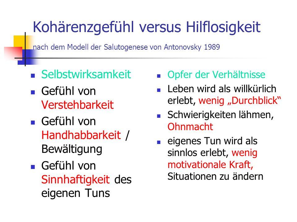 Literatur: Sigrid Tschöpe-Scheffler Eltern-Stärken-Test.