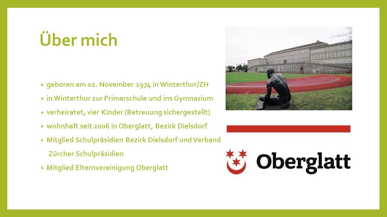 Über mich geboren am 02. November 1974 in Winterthur/ZH in Winterthur zur Primarschule und ins Gymnasium verheiratet, vier Kinder (Betreuung sicherges