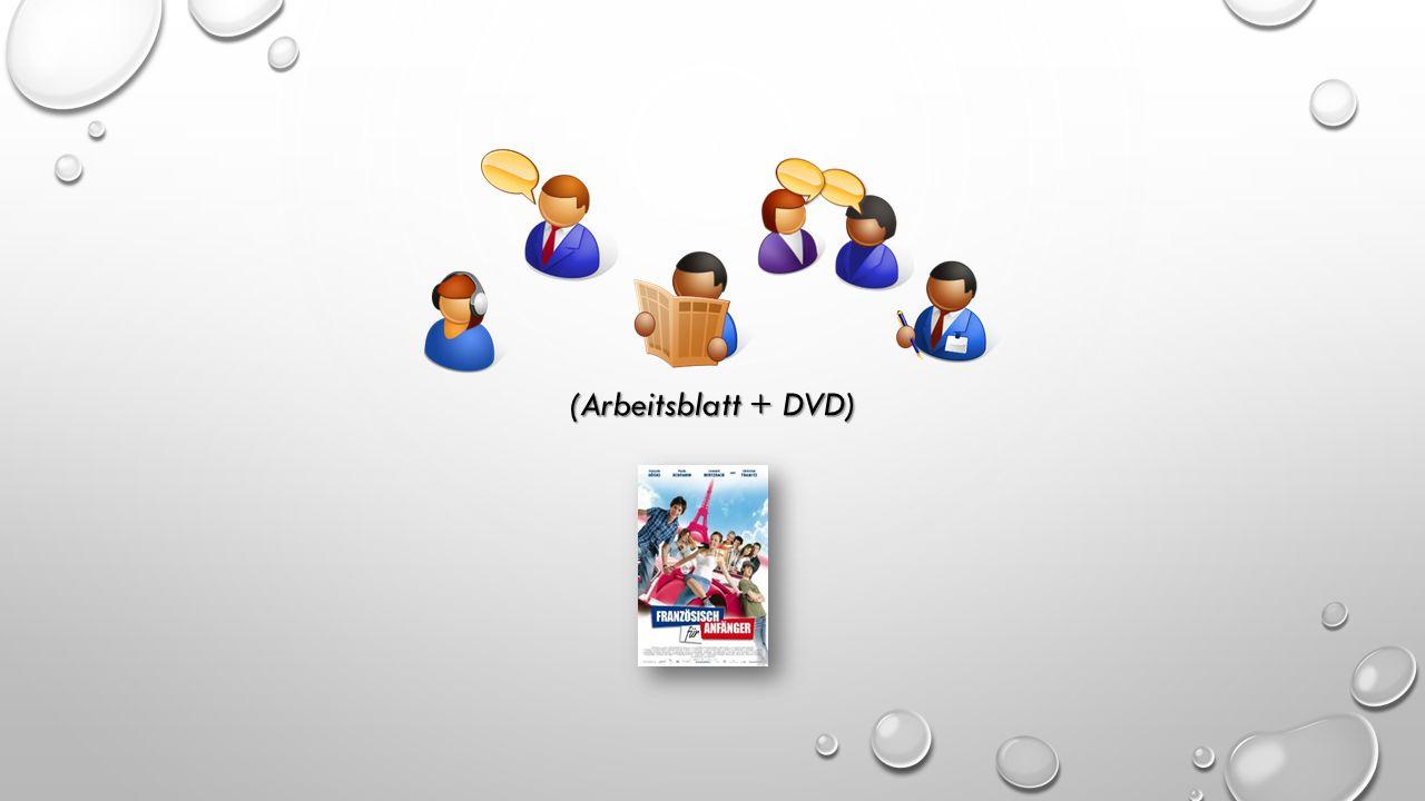 (Arbeitsblatt + DVD)