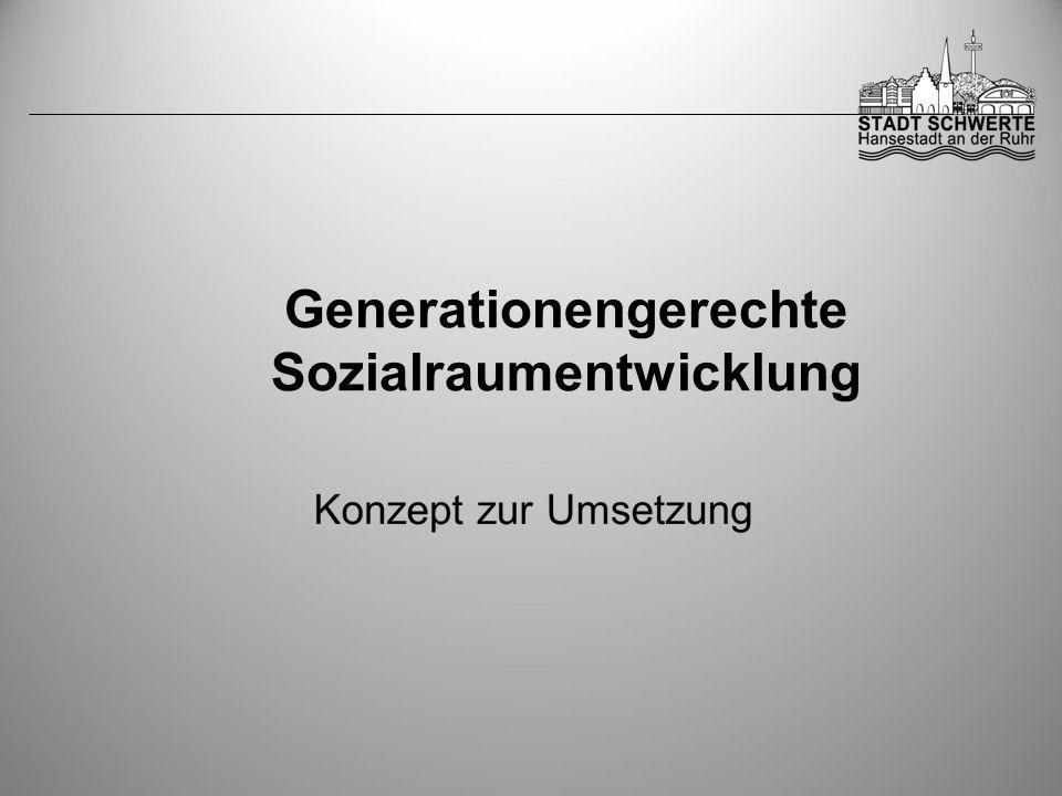 Generationengerechte Sozialraumentwicklung