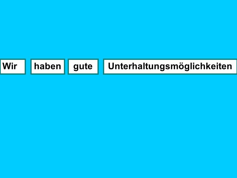 or this sentence: Ein Nachteil an meiner Stadt Esgibtzu viel Verkehr es ist..