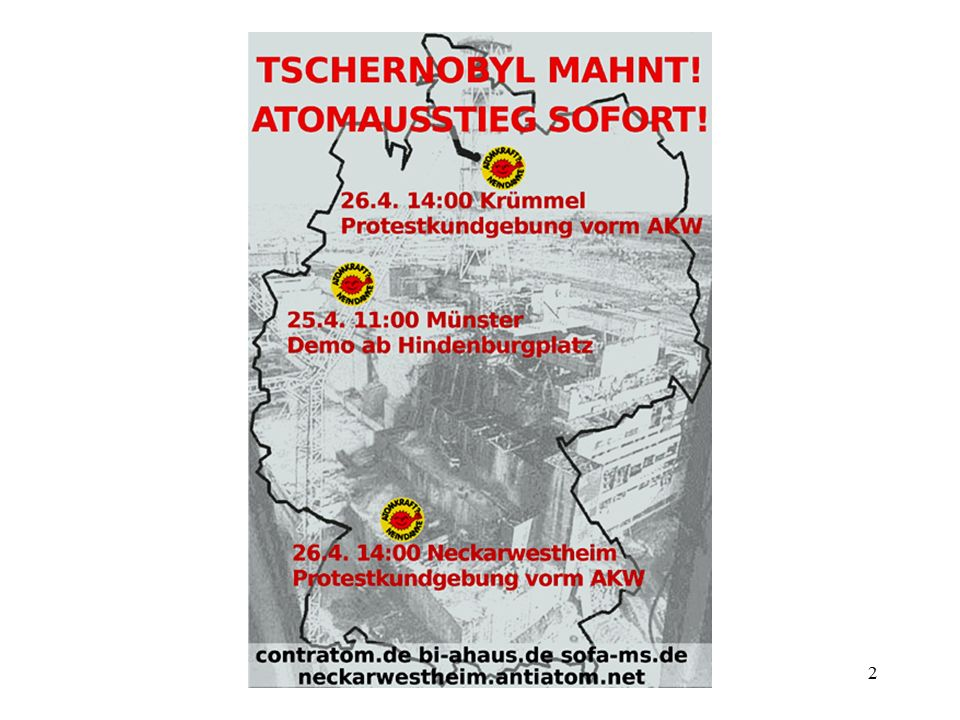 3 Tschernobyl: 26.