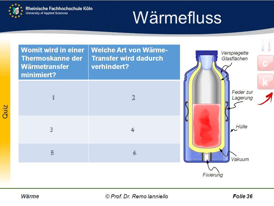 Wärme © Prof. Dr. Remo IannielloFolie 35