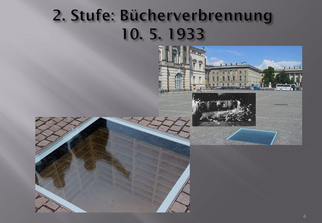 """Heinrich Heine 1820: """"Das war ein Vorspiel nur, dort wo man Bücher verbrennt, verbrennt man am Ende auch Menschen ."""