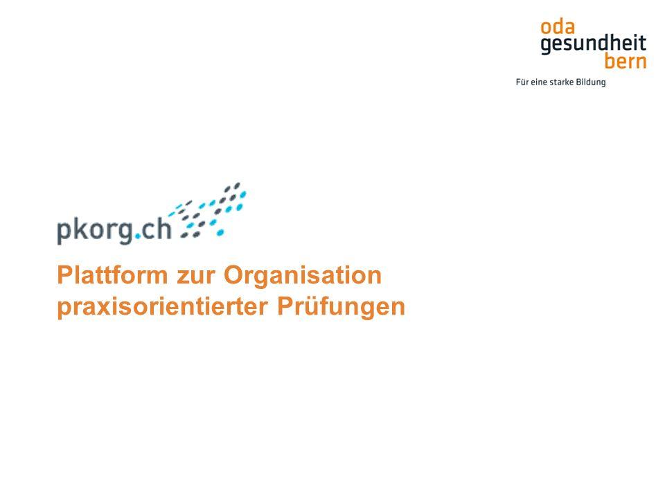 Plattform zur Organisation praxisorientierter Prüfungen
