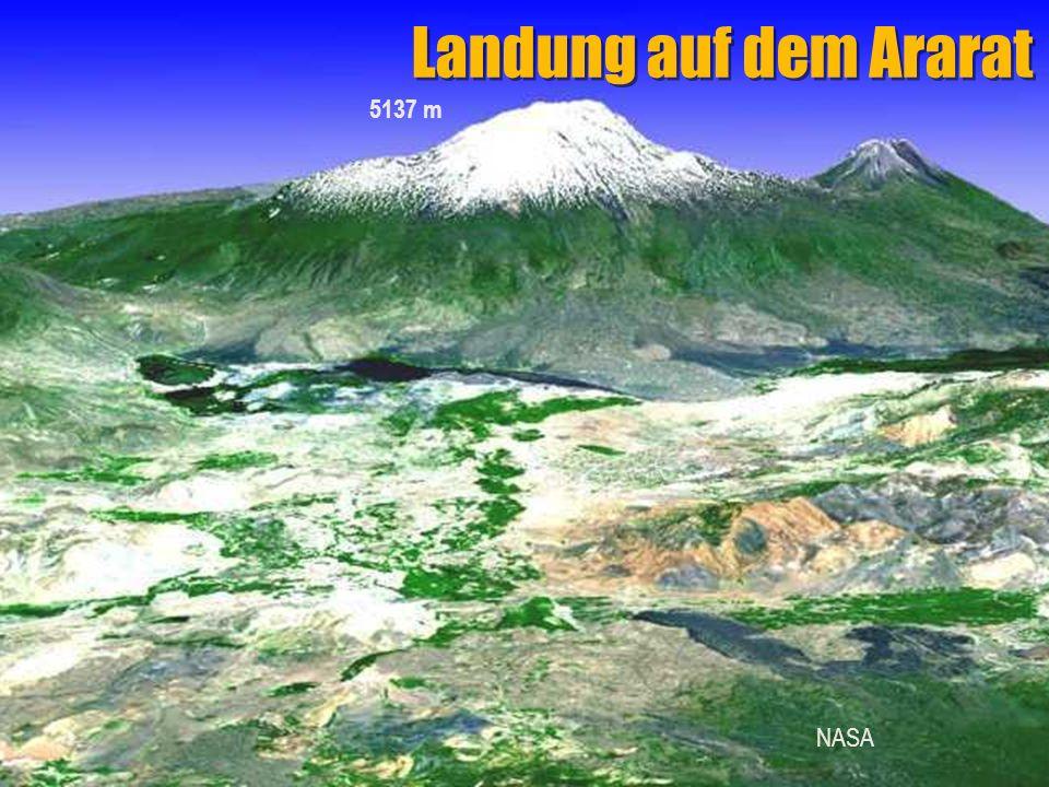 Landung auf dem Ararat NASA 5137 m