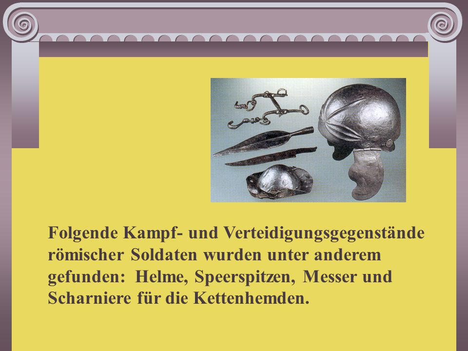 Alltagsgegenstände aus Keramik und Metall