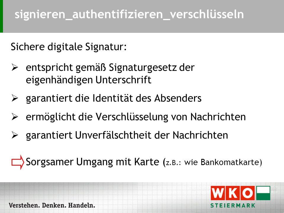 Wie sicher ist die s i c h e r e digitale Signatur.