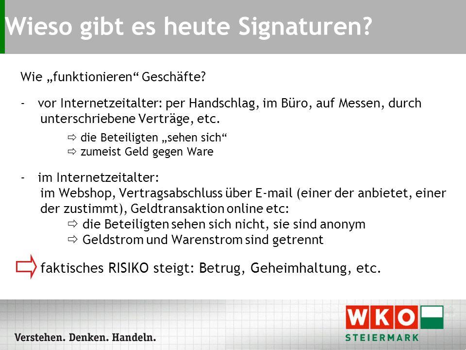 Digitale Signatur Anwendungen in der Wirtschaft DI (FH) Peter Strauss