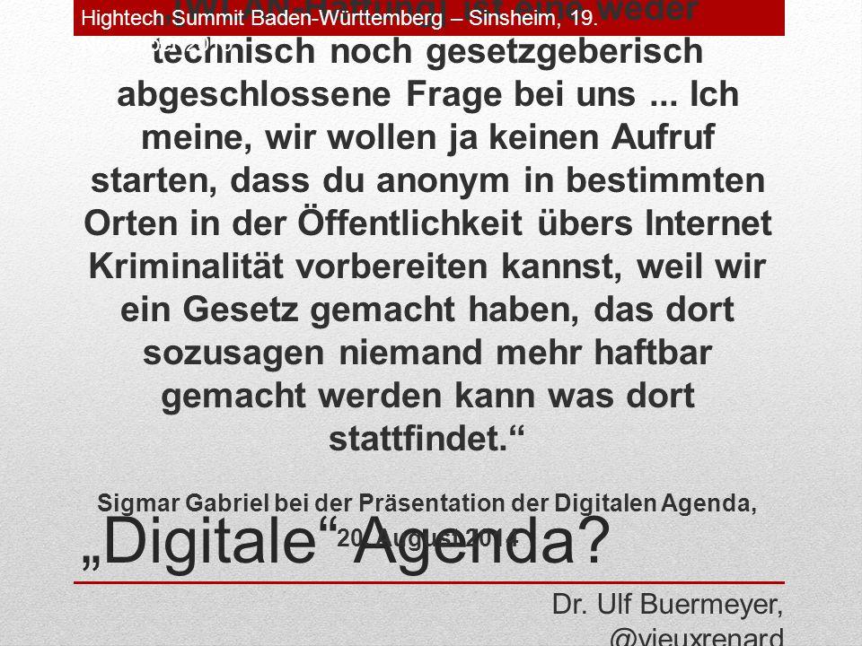"""Digitale Agenda."