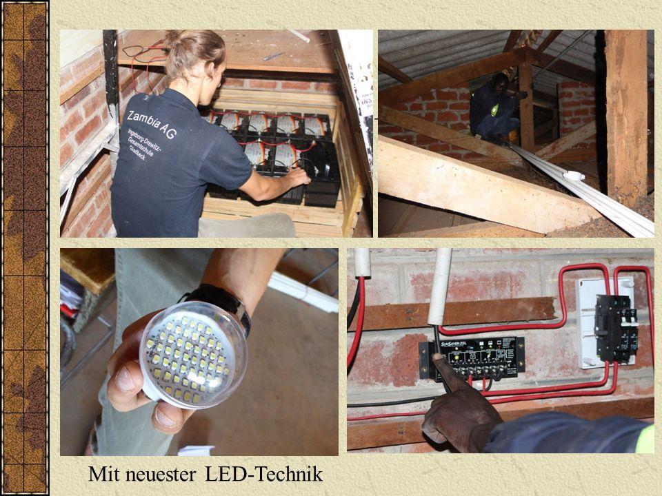 Mit neuester LED-Technik
