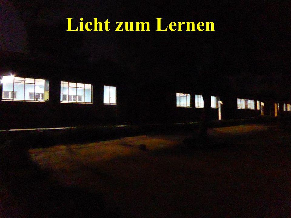 Licht zum Lernen
