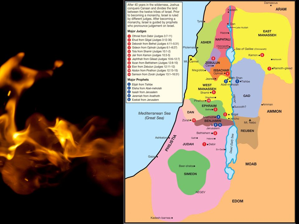 """1.Könige 18,36 """"Jahwe, du Gott Abrahams, Isaaks und Jakobs."""