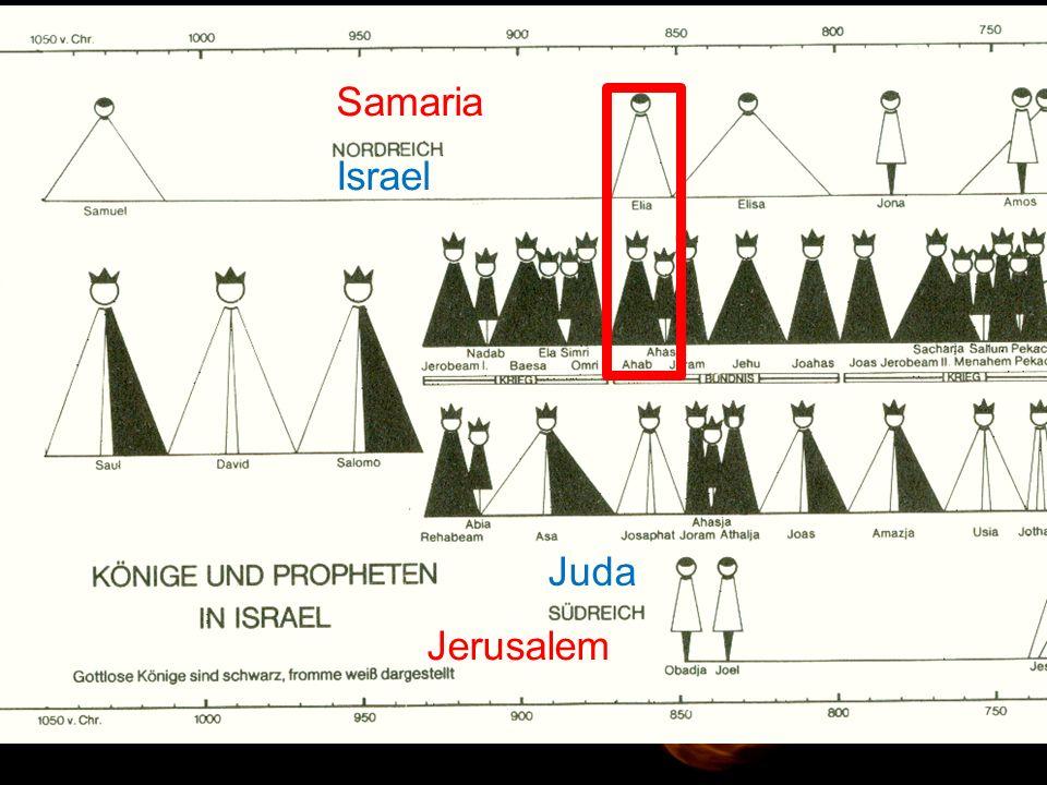 """1.Könige 18,17 """"Da bist du also – der Mann, der Israel ins Unglück stürzt!"""