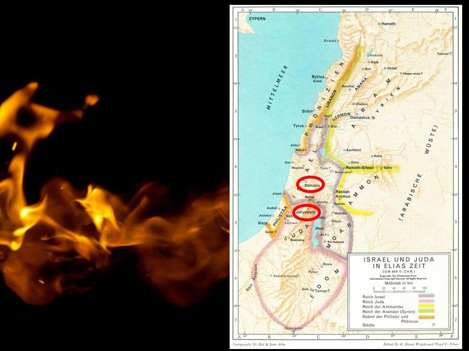 """1.Könige 18,18 """"Nicht ich stürze Israel ins Unglück, sondern du und deine Familie."""
