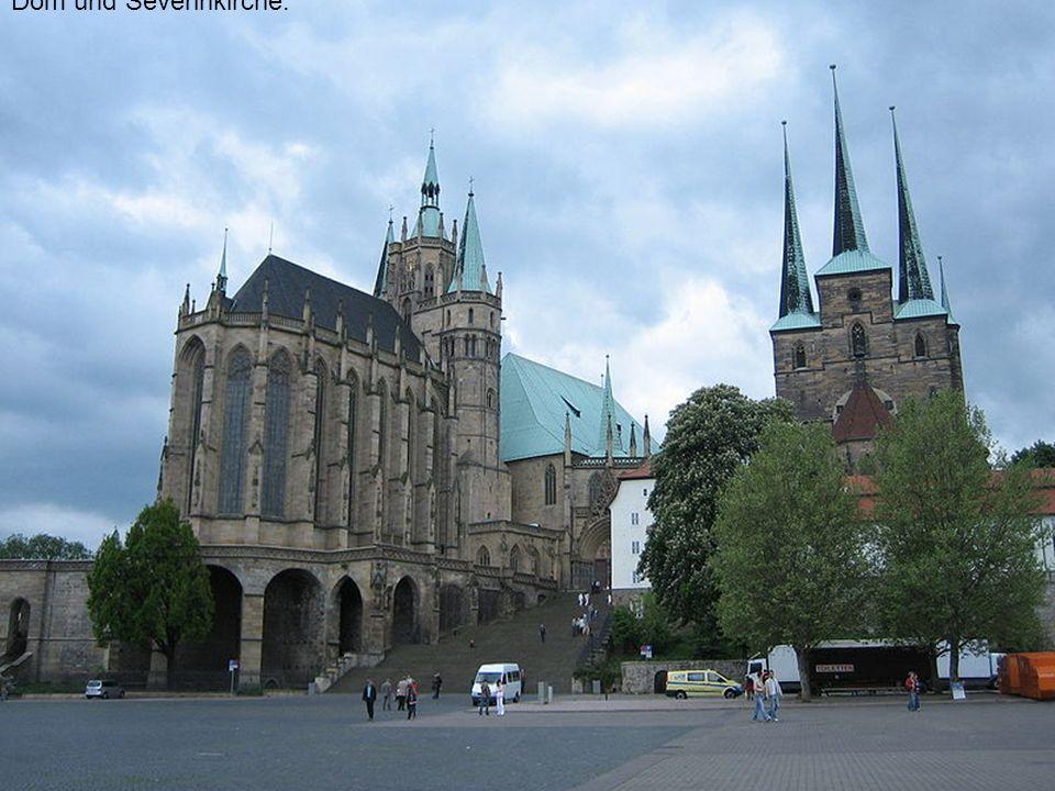 Dom und Severinkirche.
