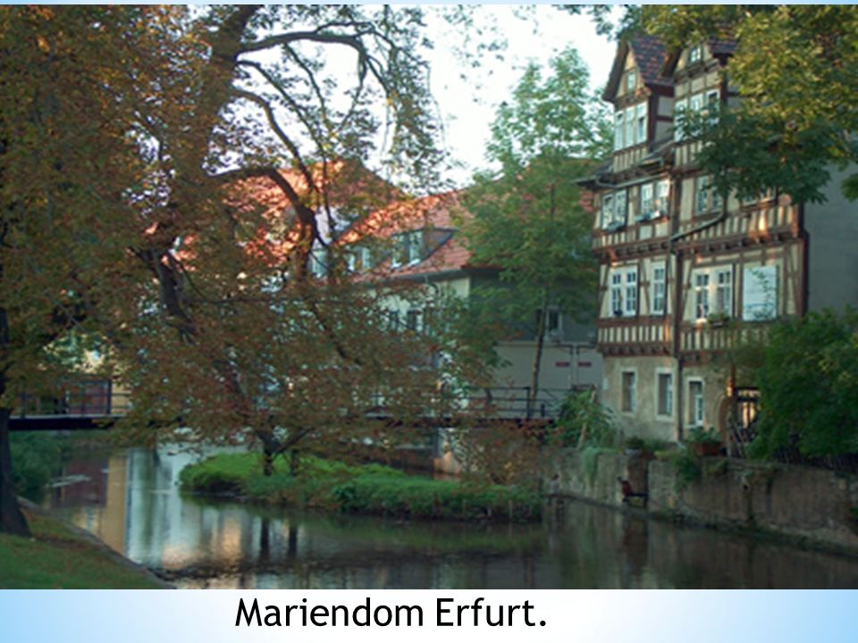Mariendom Erfurt.