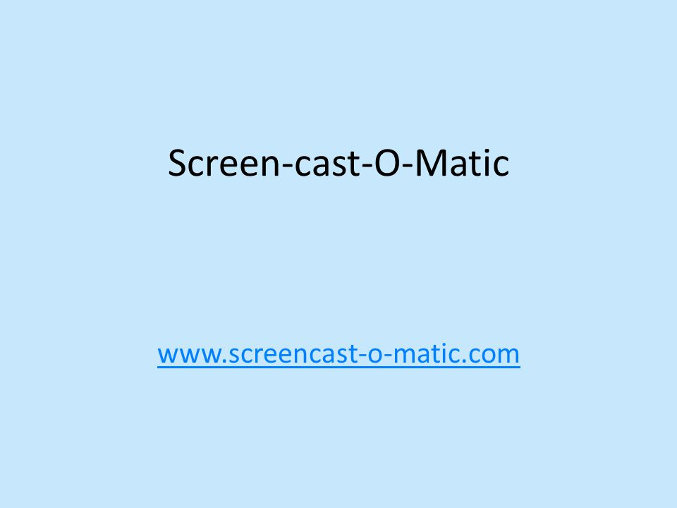 The Screen-Cast-O-Matic has 6 pictures.