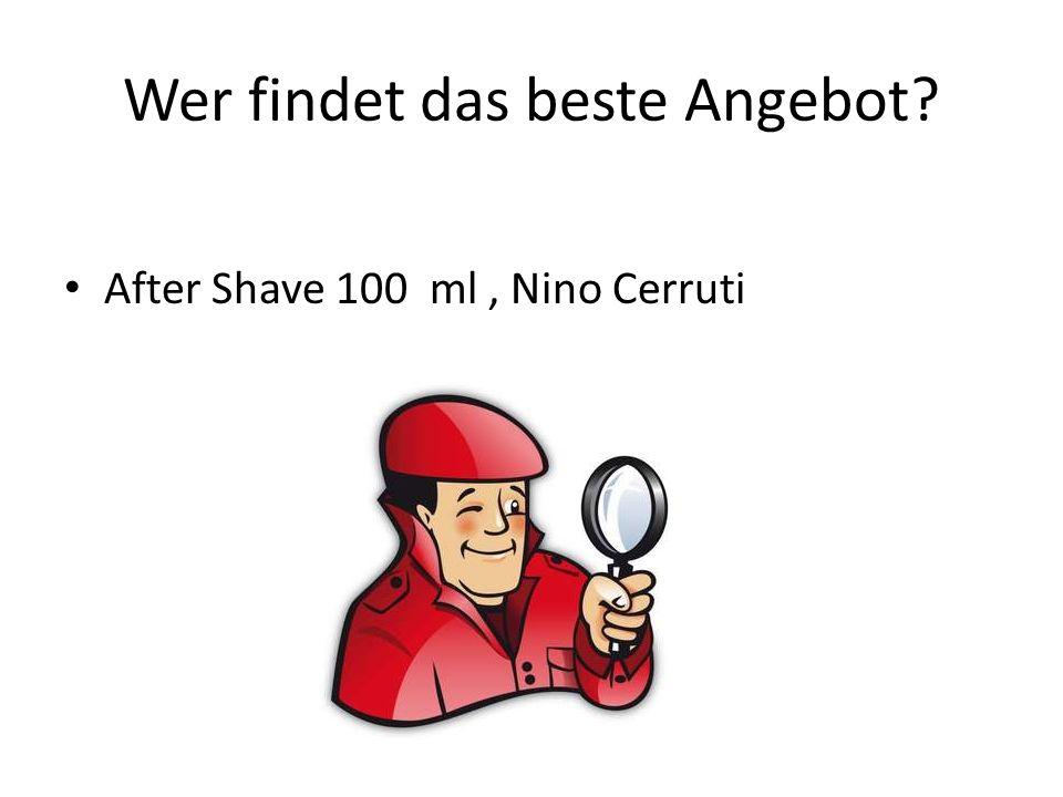 Wer findet das beste Angebot? After Shave 100 ml, Nino Cerruti