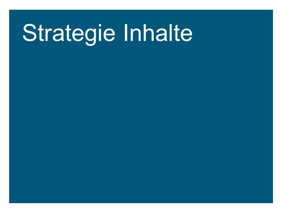 Strategie Inhalte