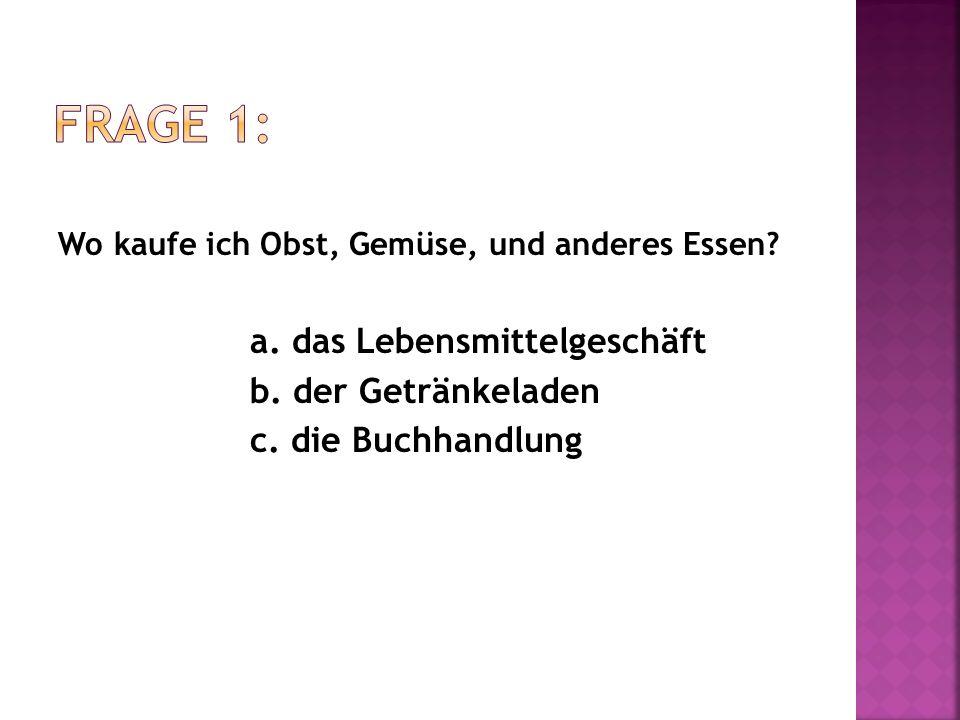 Wie sagt man on the third floor auf Deutsch.a. in der dritten Stock b.