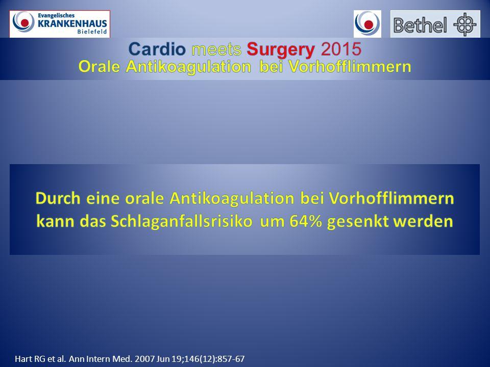 Hart RG et al. Ann Intern Med. 2007 Jun 19;146(12):857-67