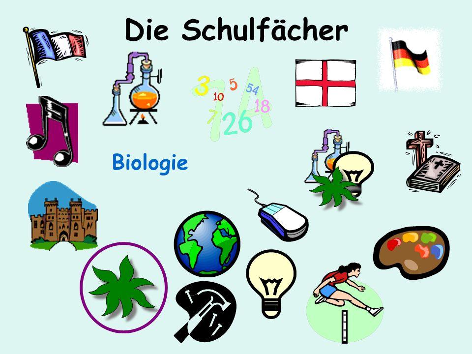 Die Schulfächer Biologie