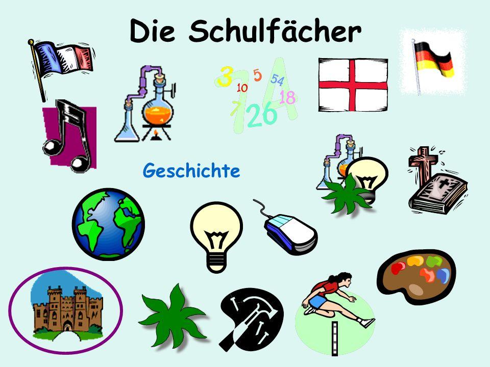 Die Schulfächer Deutsch