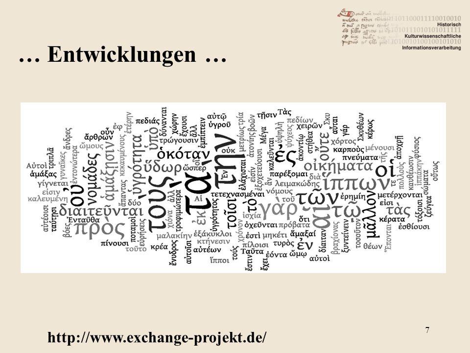 http://www.exchange-projekt.de/ 7 … Entwicklungen …