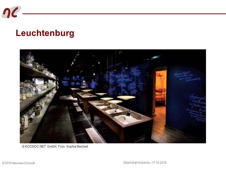 © 2015 NeumannConsult Oberhof all inclusive – 17.10.2015 Leuchtenburg © KOCMOC.NET GmbH; Foto: Sophie Reichelt
