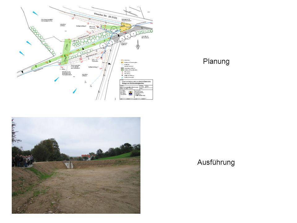 Planung Ausführung