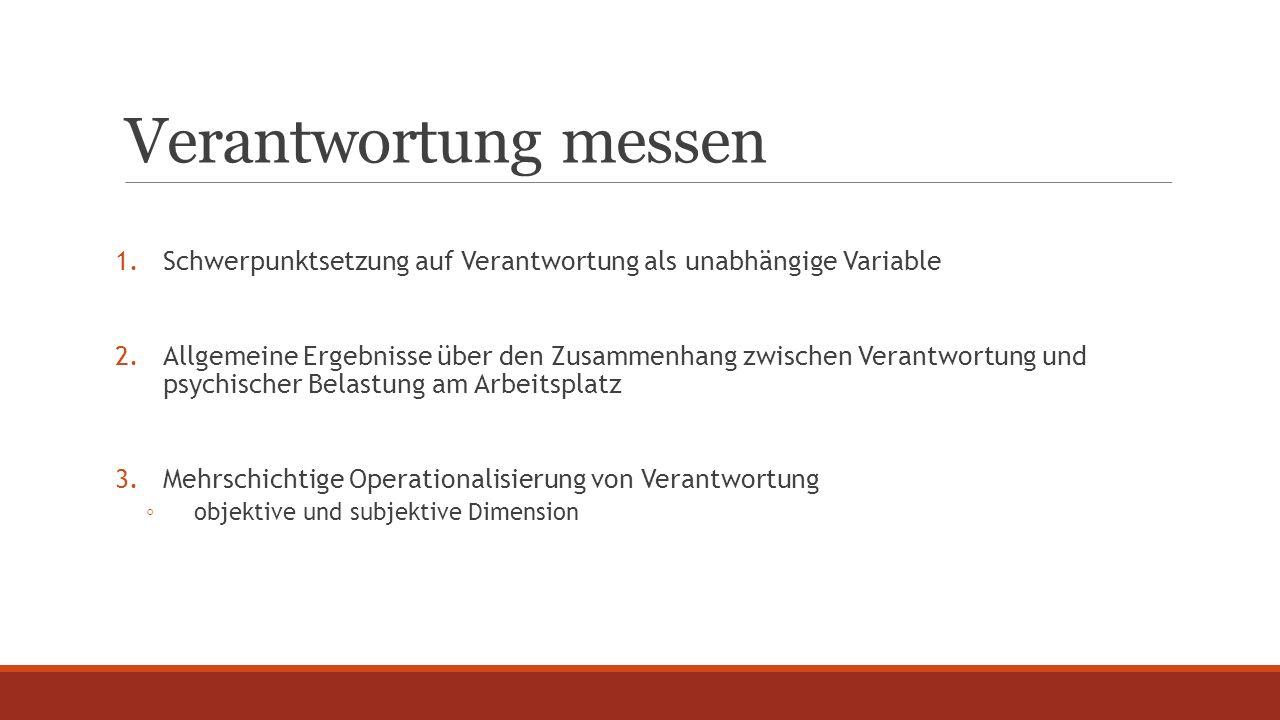 Verantwortung messen Variablen VerantwortungFragetext (Quelle: BIBB/BAuA 2012)