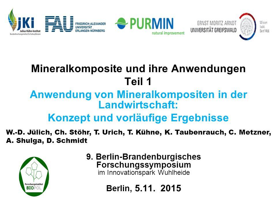 Mineralst offe Lösliche Mineralien Polymere Naturminerale natürliches Zeolith- Gestein Tonmineral z.B.