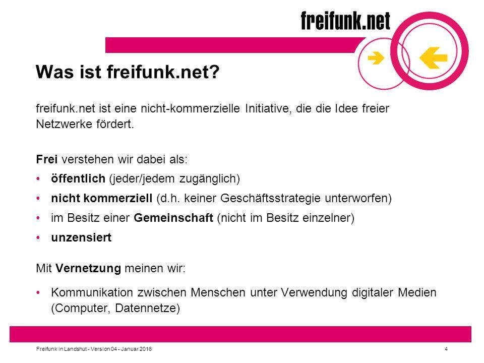 Was ist freifunk.net.