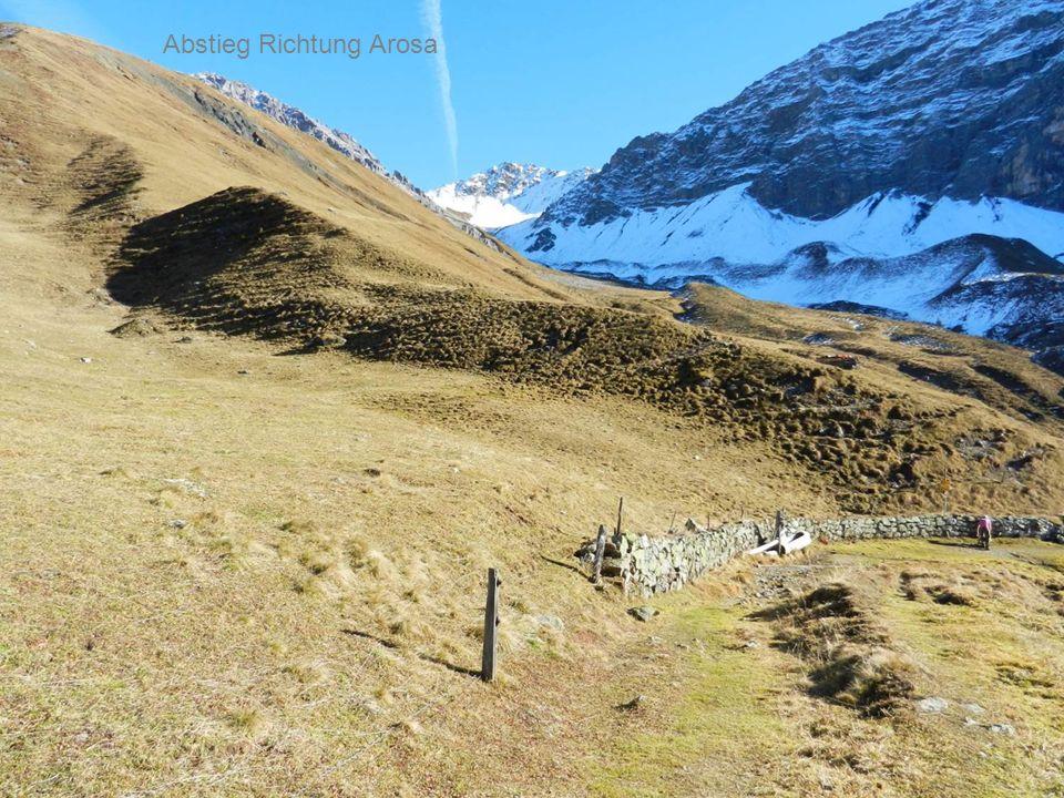 Abstieg Richtung Arosa