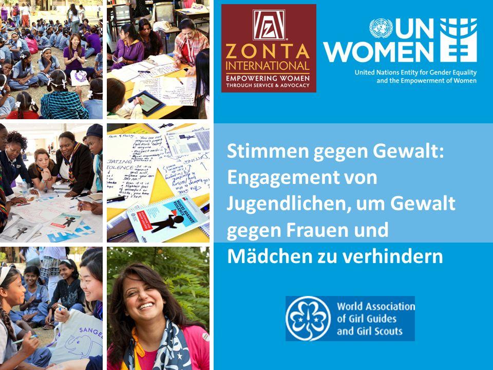 Stimmen gegen Gewalt: Engagement von Jugendlichen, um Gewalt gegen Frauen und Mädchen zu verhindern