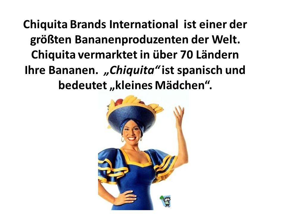 Chiquita Brands International ist einer der größten Bananenproduzenten der Welt.
