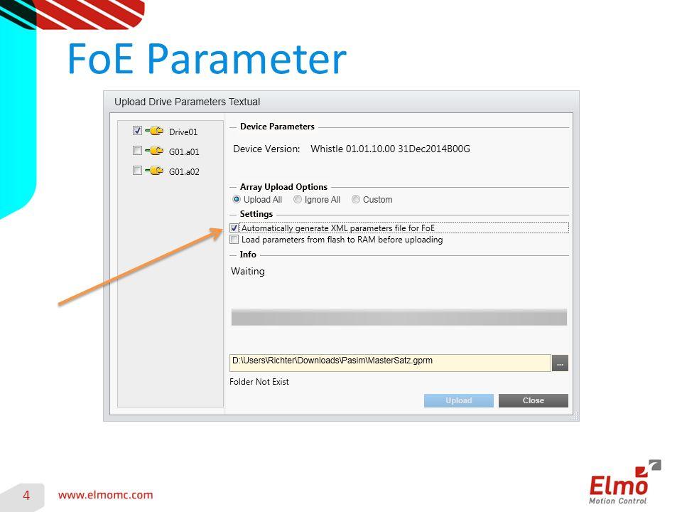 FoE Parameter 4