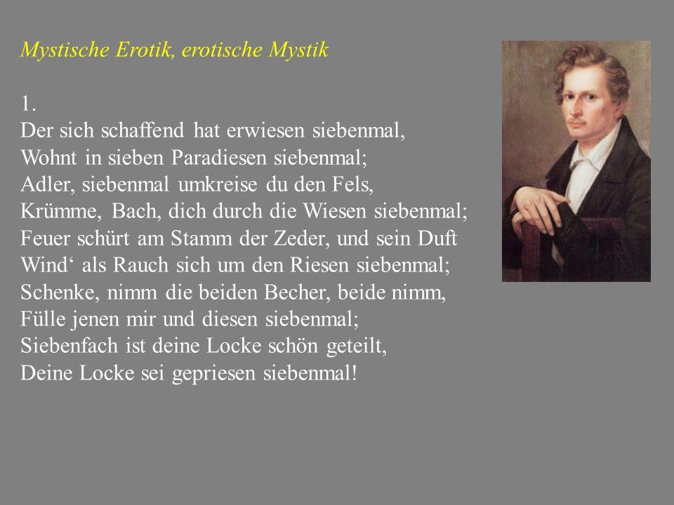 Mystische Erotik, erotische Mystik 1.