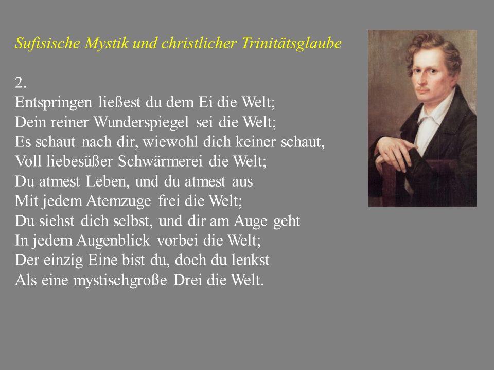 Sufisische Mystik und christlicher Trinitätsglaube 2.