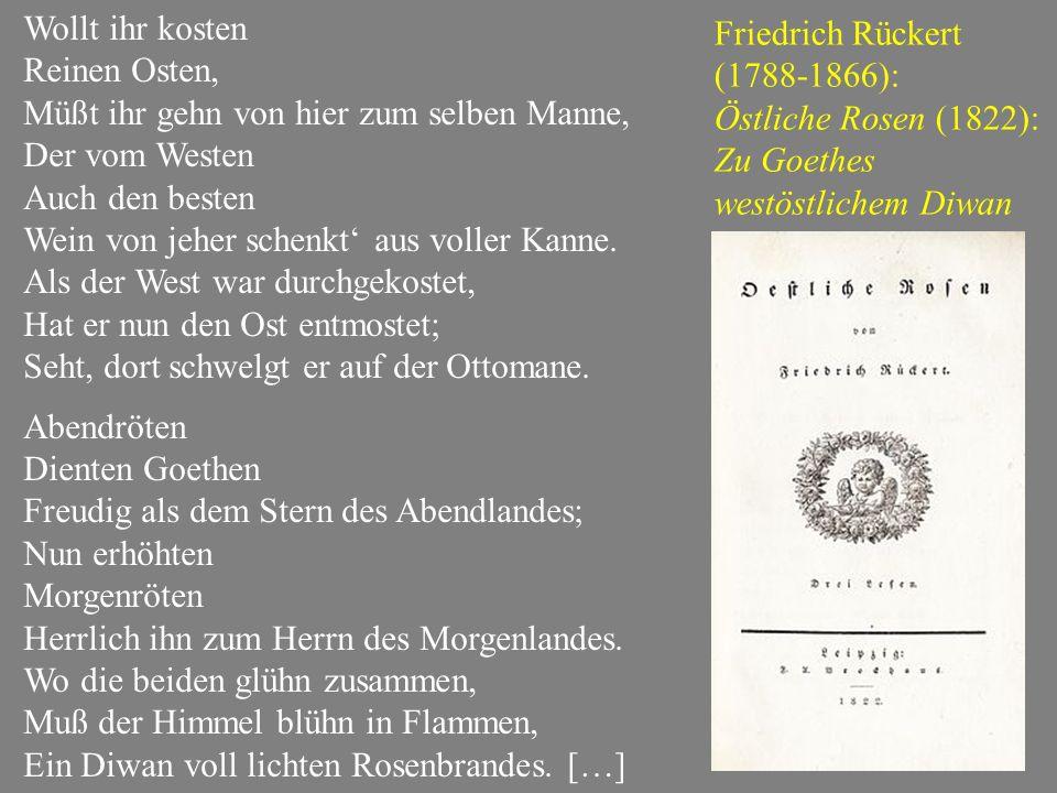 August von Platen: Ghaselen.Zweite Sammlung. Dem Dichter Friedrich Rückert zugeeignet.