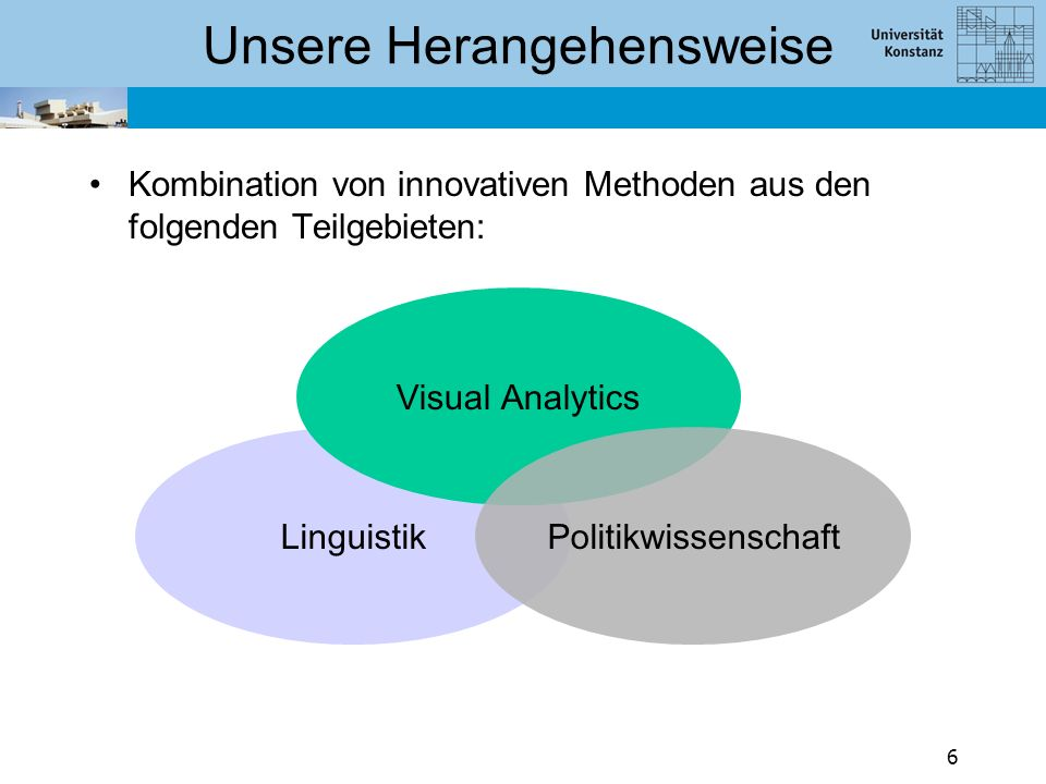 Herausforderungen Herausforderung II: Bei ganzen Dialogen werden Annotationen unübersichtlich –Muster können nur noch schwer erkannt werden  Lösung: Visualisierung der Annotation 17