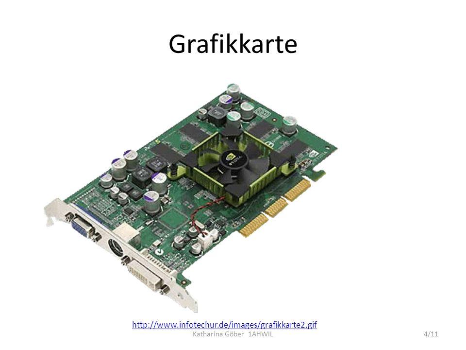 Grafikkarte http://www.infotechur.de/images/grafikkarte2.gif 4/11Katharina Göber 1AHWIL