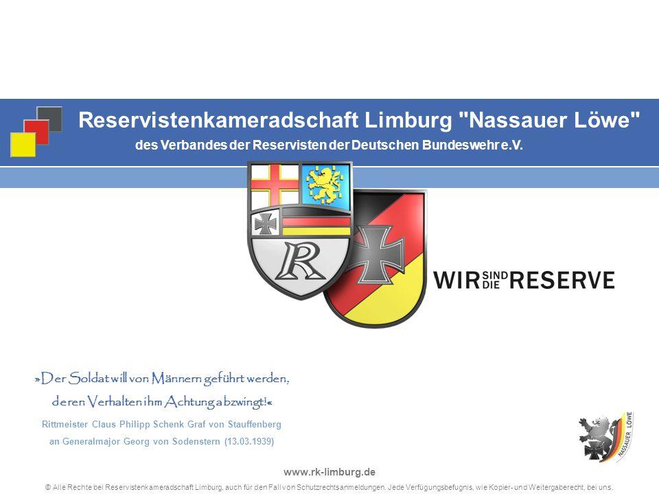 11 © Alle Rechte bei Reservistenkameradschaft Limburg, auch für den Fall von Schutzrechtsanmeldungen.