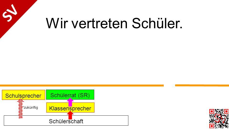 Kontakt schulsprecher@fdg-frankfurt.de oder Zettel im Sekretariat abgeben SV