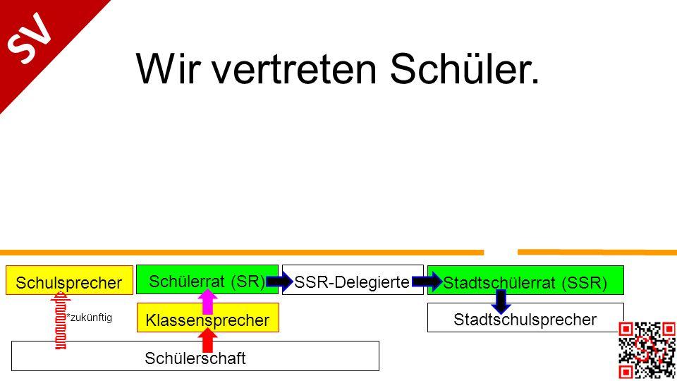 Website www.fdg-ffm.de/schuelervertretung SV